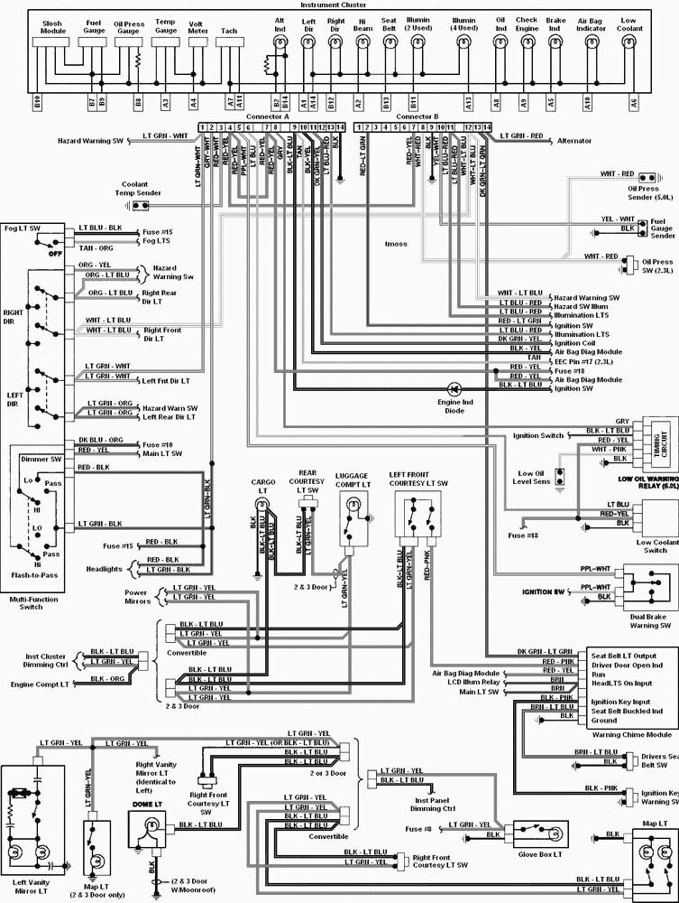 Download 1994 Camaro Wiring Harness Wiring Diagram